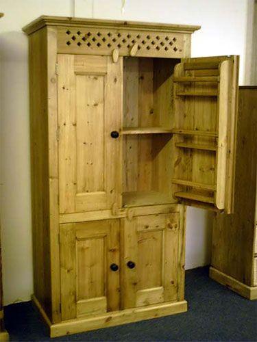 Pine Kitchen Units Devon